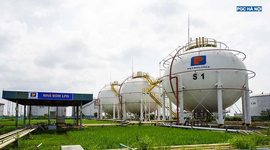 Bồn gas Petrolimex Hà Nội