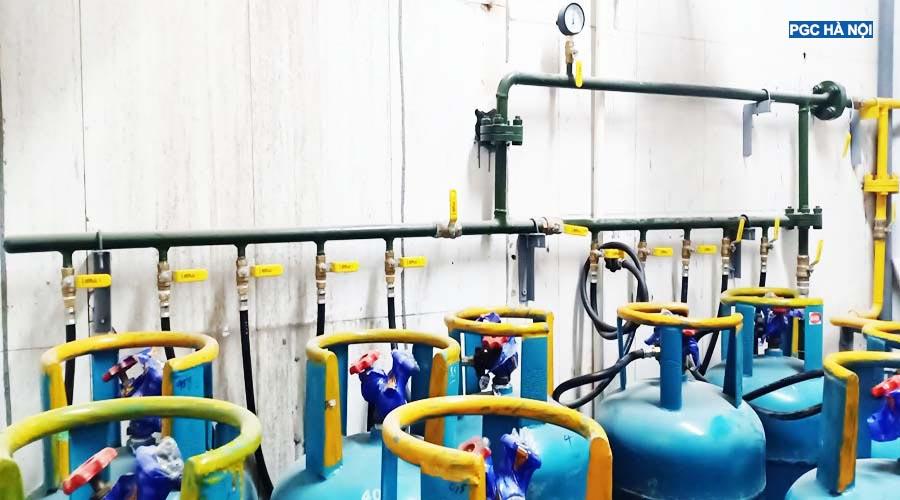 Dàn gas Petrolimex Hà Nội
