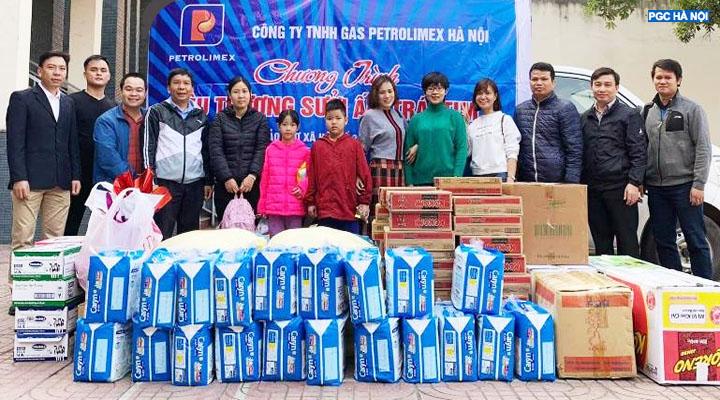 Thành viên Công ty Gas Petrolimex Hà Nội