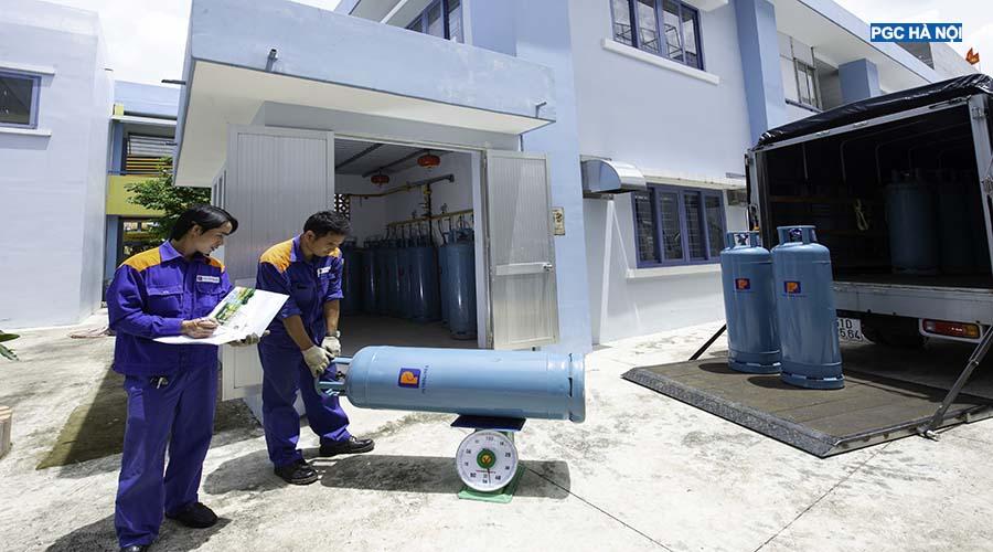 Vận chuyển Gas Petrolimex Hà Nội