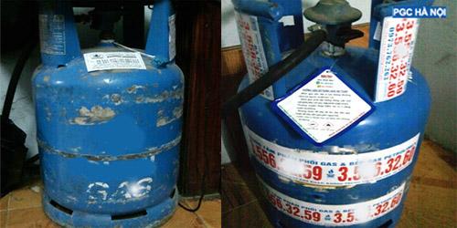 Bình gas cũ không đảm bảo an toàn